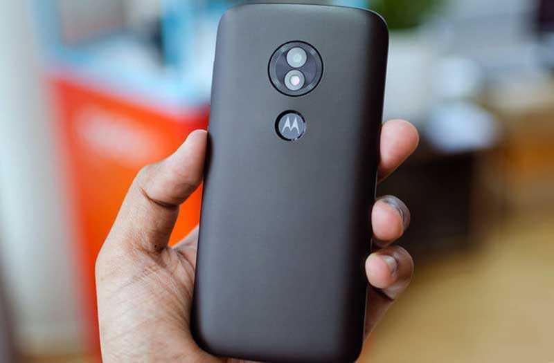 Moto E5 Play дизайн