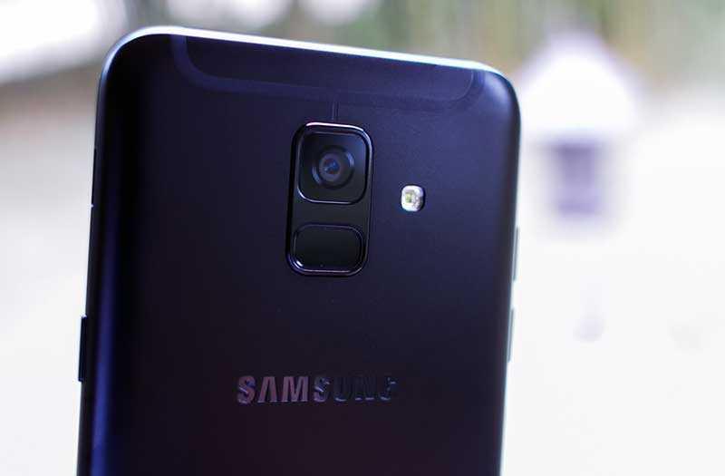 Камеры Samsung Galaxy A6