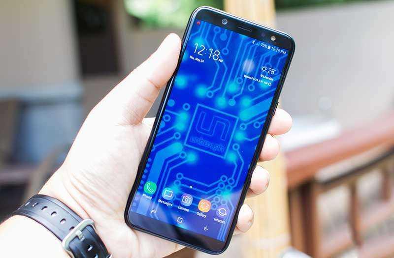 Дизан Samsung Galaxy A6 (2018)