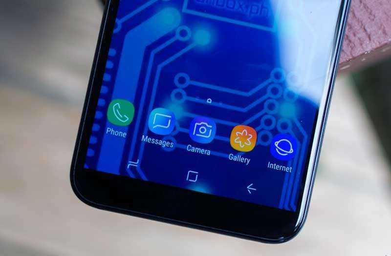 Samsung Galaxy A6 динамик