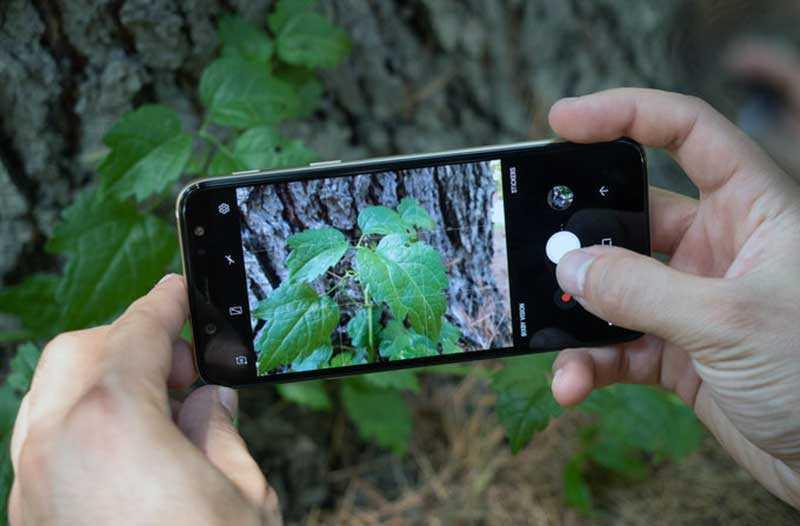 Камера Samsung Galaxy A6