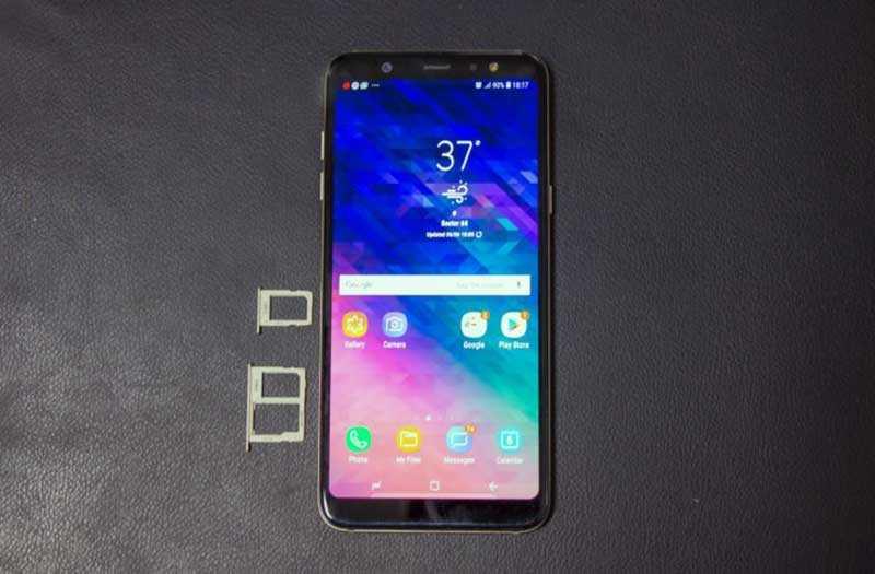 Samsung Galaxy A6 Plus качество сборки