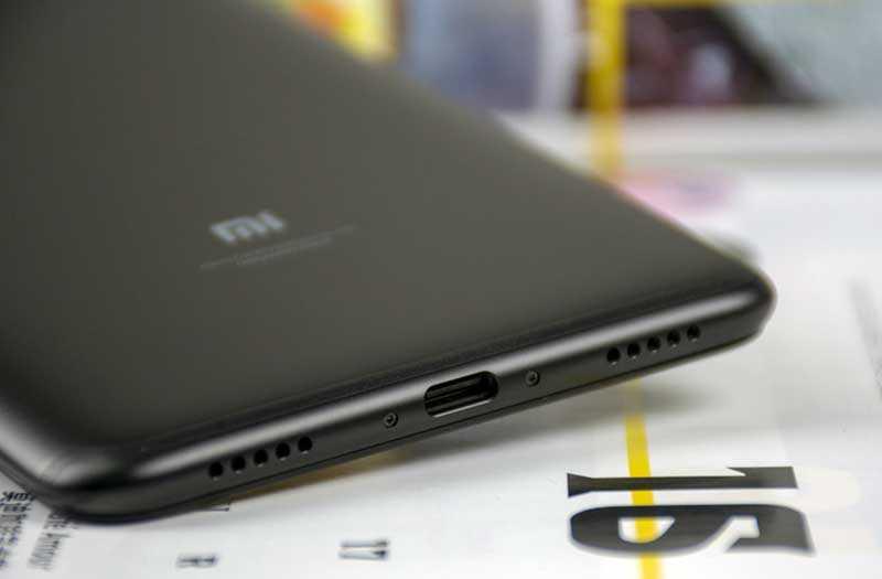 Xiaomi Max 3 порт
