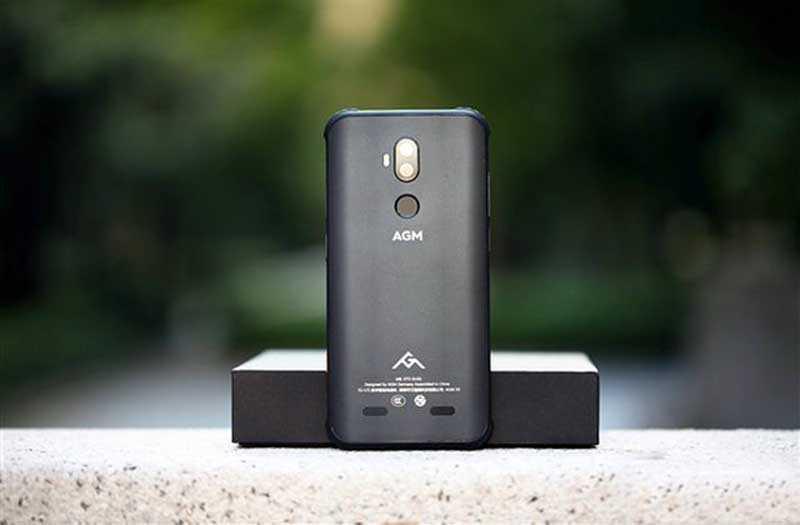 Дизайн AGM X3