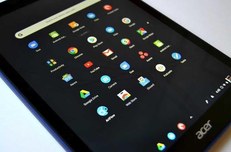 Производительность Acer Chromebook Tab 10