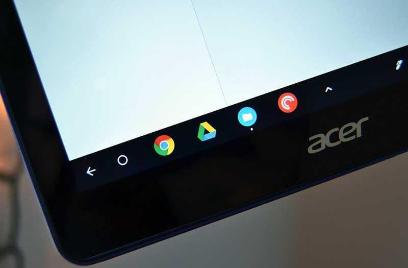 ОС Acer Chromebook Tab 10