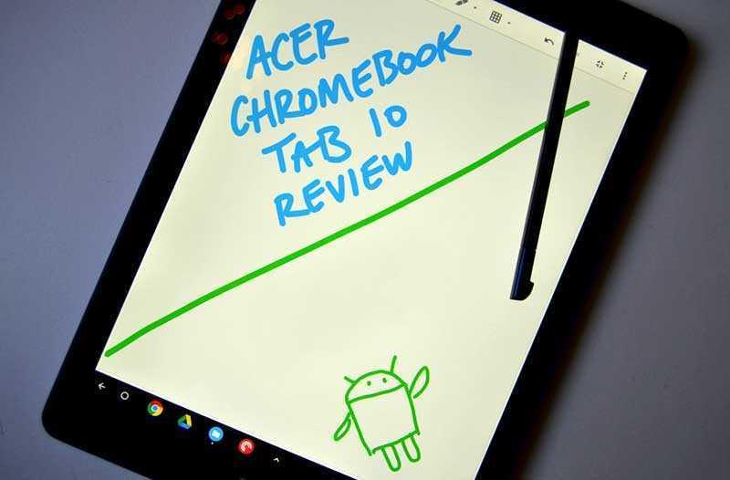 Acer Chromebook Tab 10 характеристики