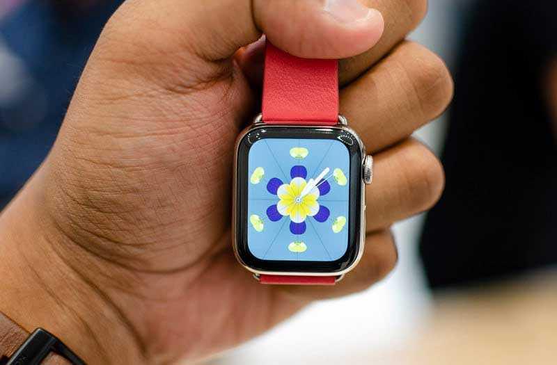 Производительность Apple Watch Series 4