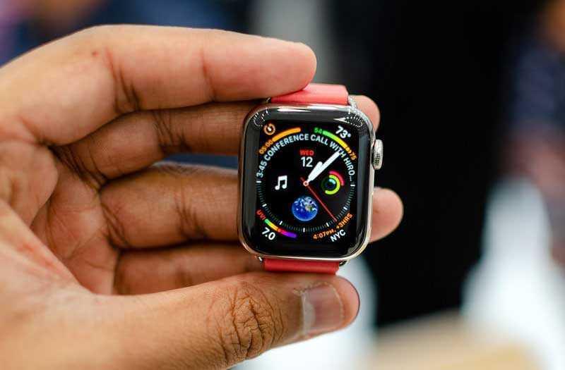 Тест Apple Watch Series 4