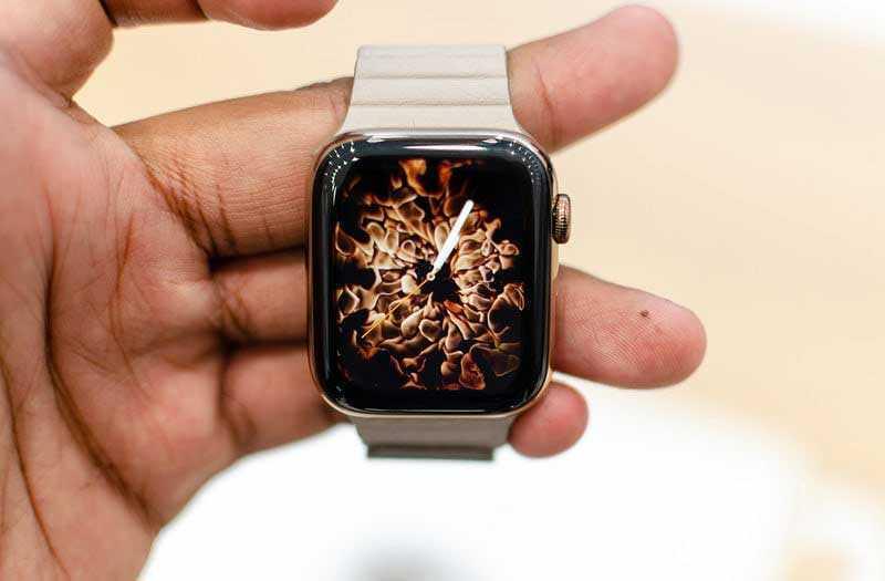 Apple Watch Series 4 дисплей