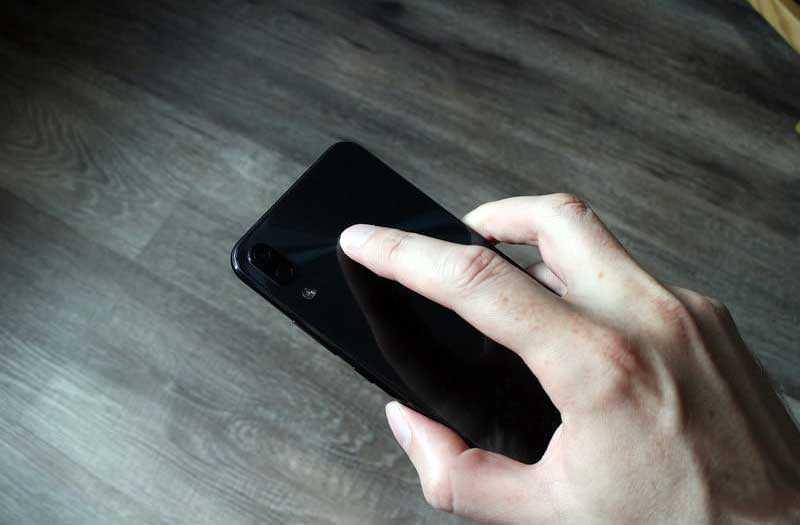 Сканер Asus Zenfone 5Z