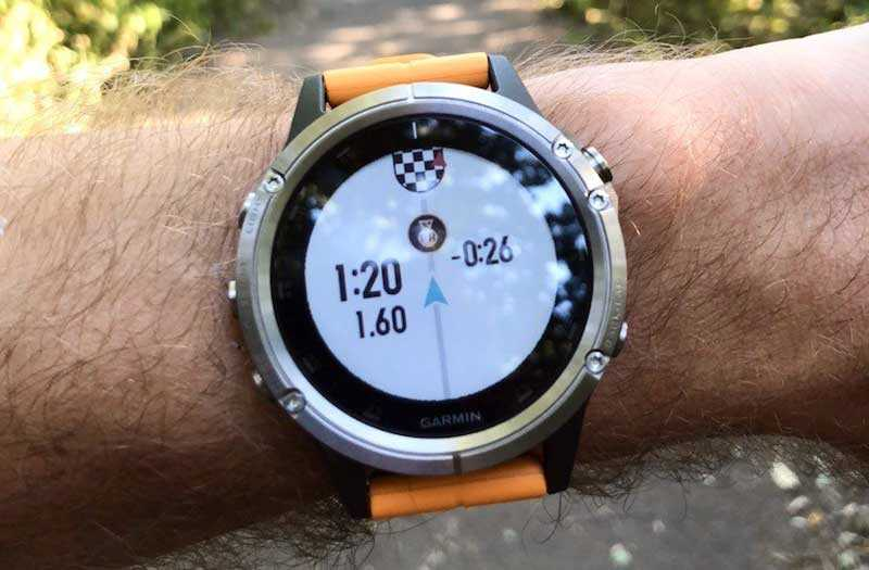 Часы Fenix 5 Plus