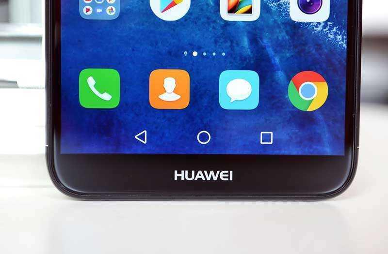 Интерфейс Huawei P Smart