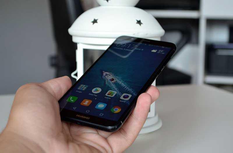 Распознавание лица Huawei P Smart