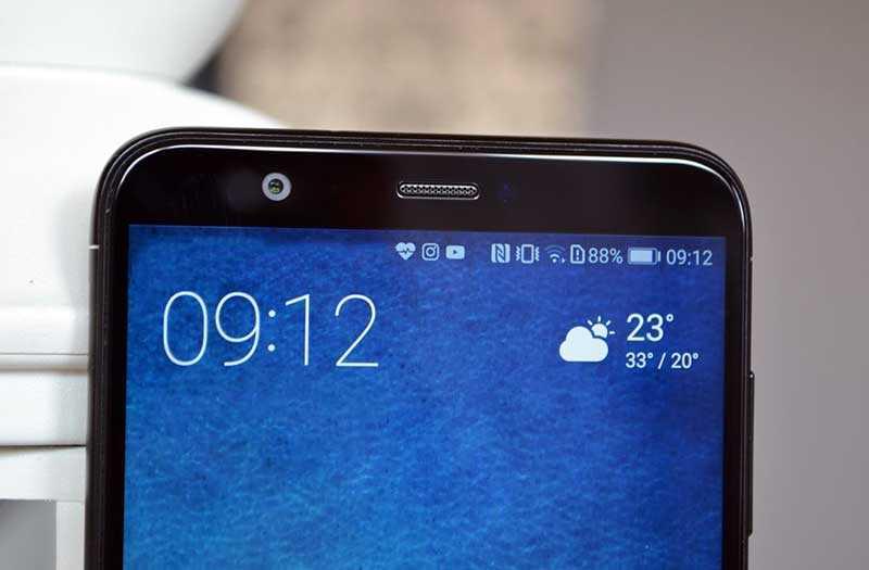 Передняя камера Huawei P Smart