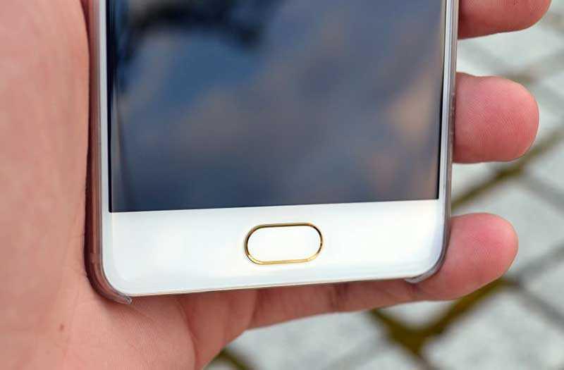 Meizu Pro 7 сканер отпечатка пальца