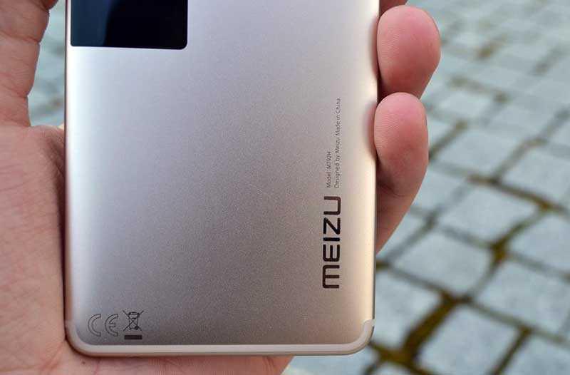 Meizu Pro 7 сзади