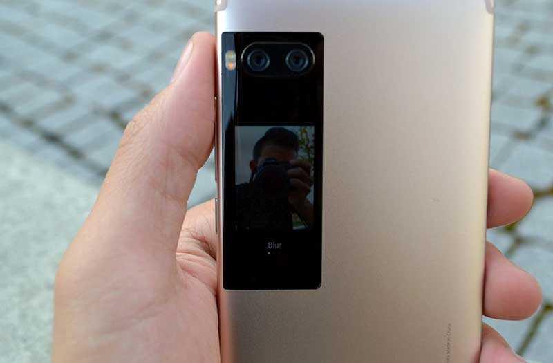 Второй дисплей Meizu Pro 7