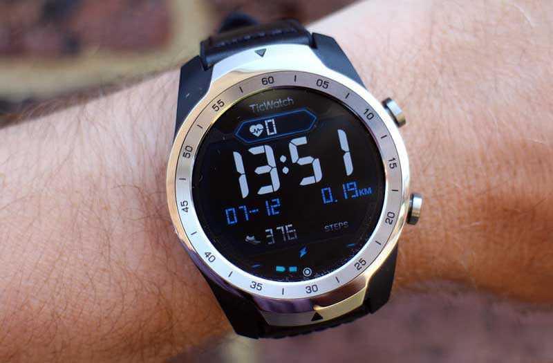 Дизайн Дизайн Mobvoi Ticwatch Pro
