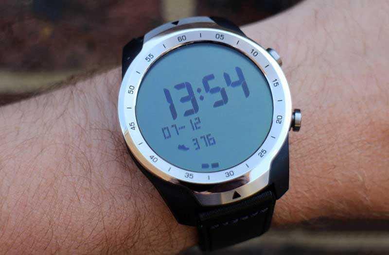 Второй экран Mobvoi Ticwatch Pro