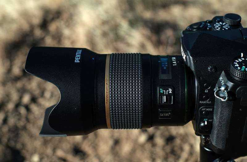 Pentax K-1 Mark II обзор