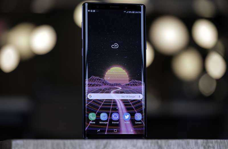 Мультимедиа Samsung Galaxy Note 9 и звук