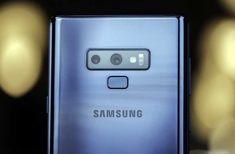 Камеры Samsung Galaxy Note 9