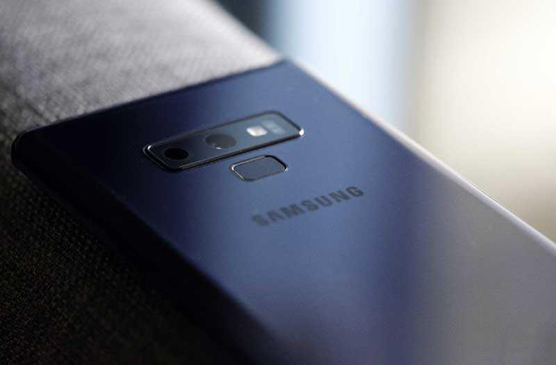 Звонки Samsung Galaxy Note 9