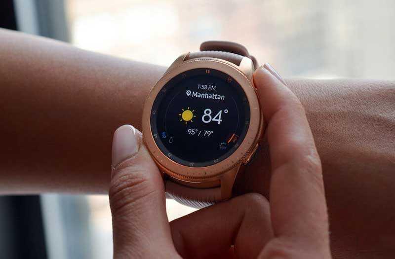 Samsung Galaxy Watch безель