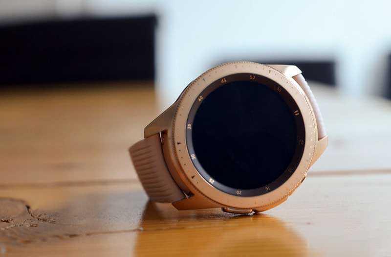 Дизайн Samsung Galaxy Watch