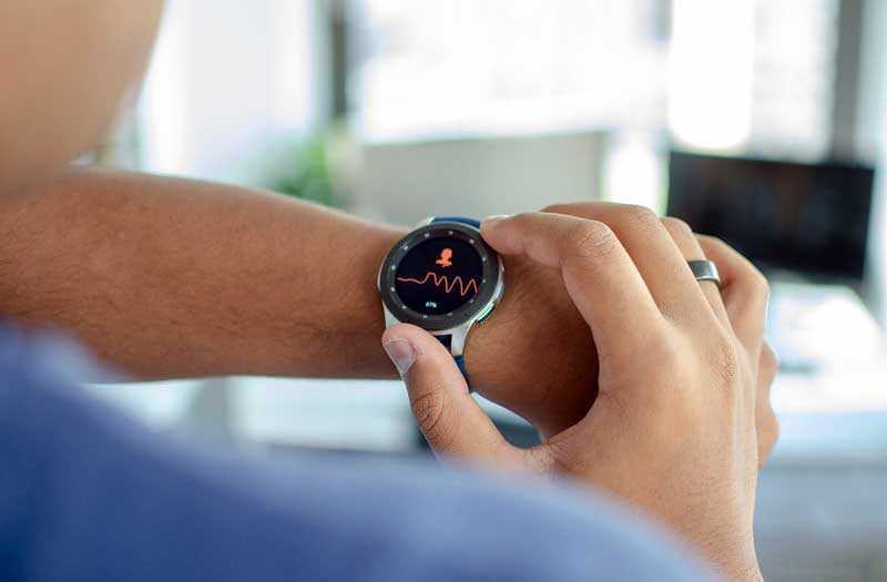 Мониторинг Samsung Galaxy Watch