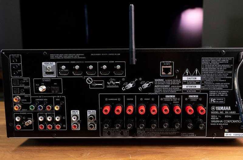 Подключения Yamaha RX-V683