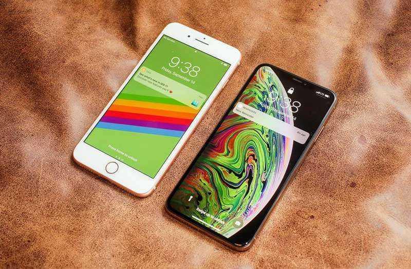 iPhone XS Max сравнение