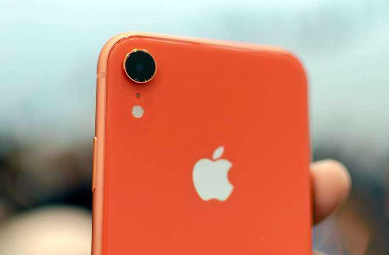 Камеры iPhone XR