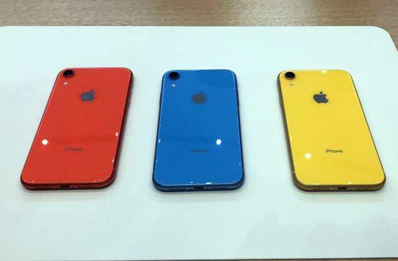 Производительность iPhone XR