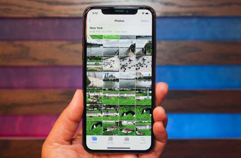 Снимки iPhone XS