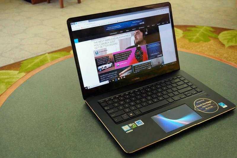 Экран Asus ZenBook Pro 15 UX580