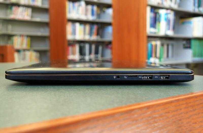 Порты Asus ZenBook Pro 15 UX580 и разъёмы
