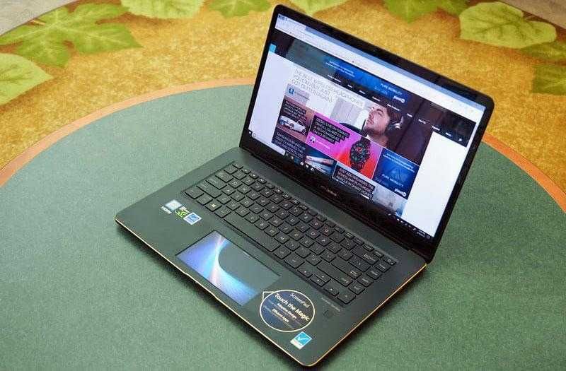 Дизайн Asus ZenBook Pro 15 UX580