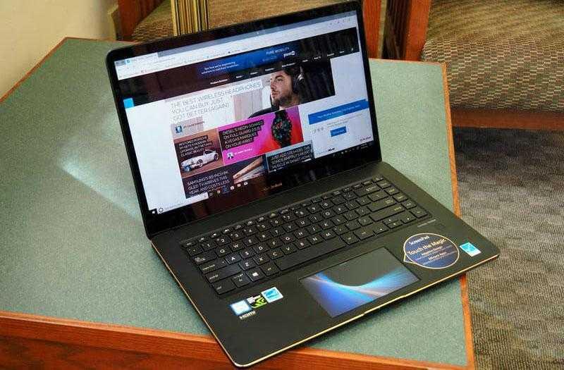 Сравнение Asus ZenBook Pro 15 UX580