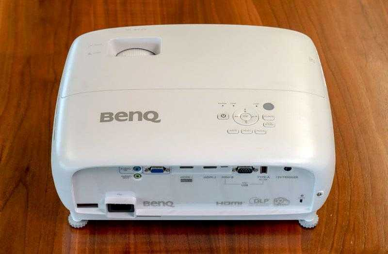 BenQ TK800 разёмы