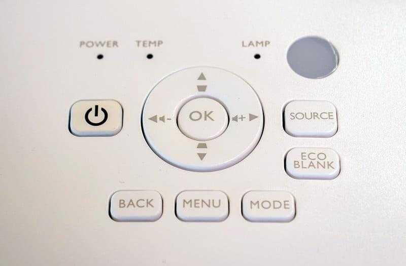 Кнопки BenQ TK800
