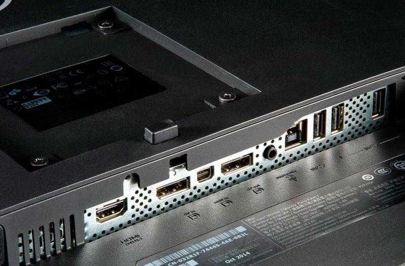 Dell P2715Q поры