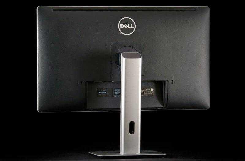 Dell P2715Q сзади