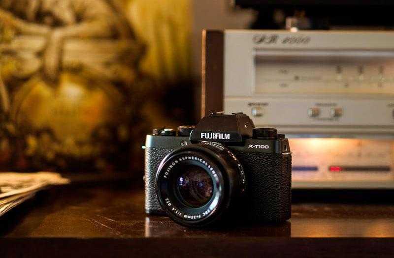 Обзор Fujifilm X-T100