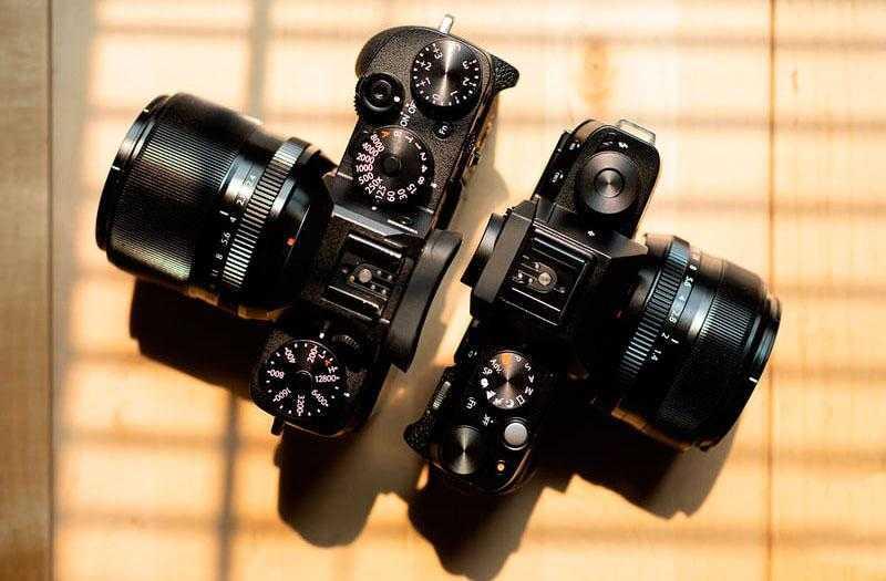 Настройки Fujifilm X-T100