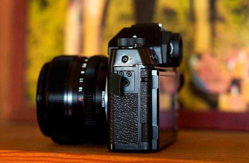 Управление Fujifilm X-T100