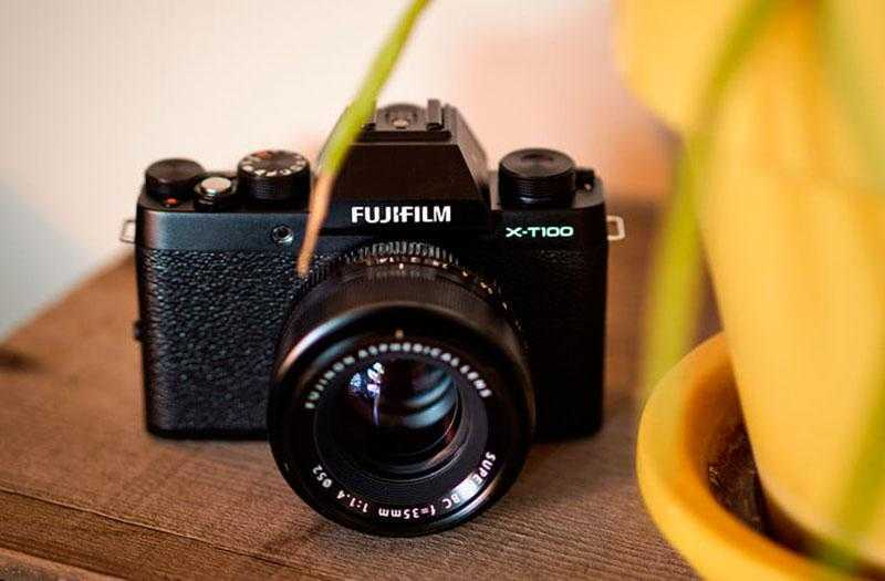 Тест Fujifilm X-T100