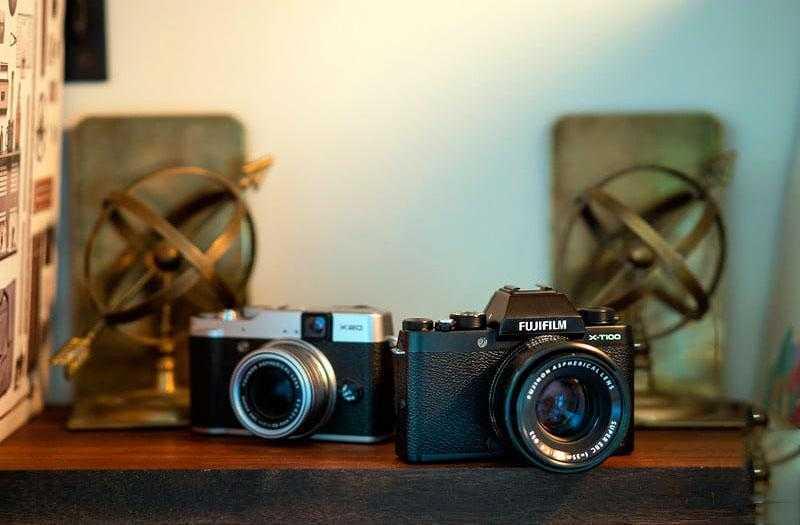 Сравнение Fujifilm X-T100