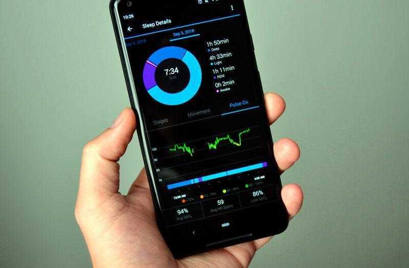 Garmin Vivosmart 4 приложение